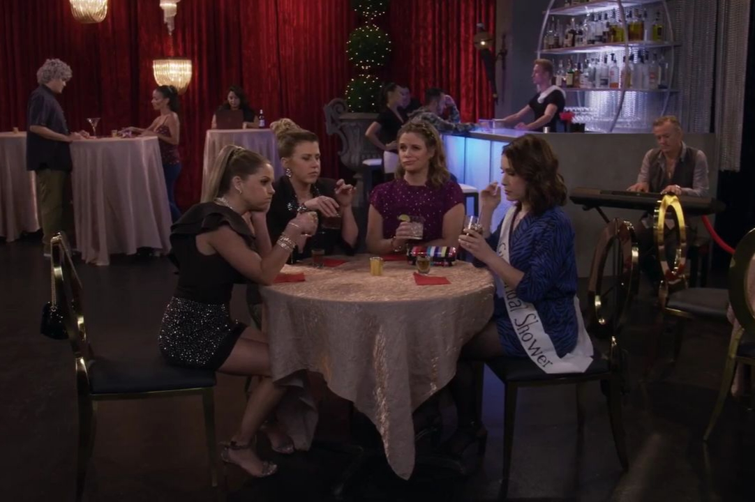 Marla Sokoloff, Andrea Barber, Candace Cameron Bure, and Jodie Sweetin in Moms' Night Out (2019)