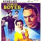 Charles Boyer, Leo G. Carroll, Lyle Bettger, William Demarest, Walter Hampden, Barbara Rush, Douglas Sirk, and H.B. Warner in The First Legion (1951)