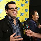 Billy Crystal and Josh Gad at an event for The Comedians (2015)