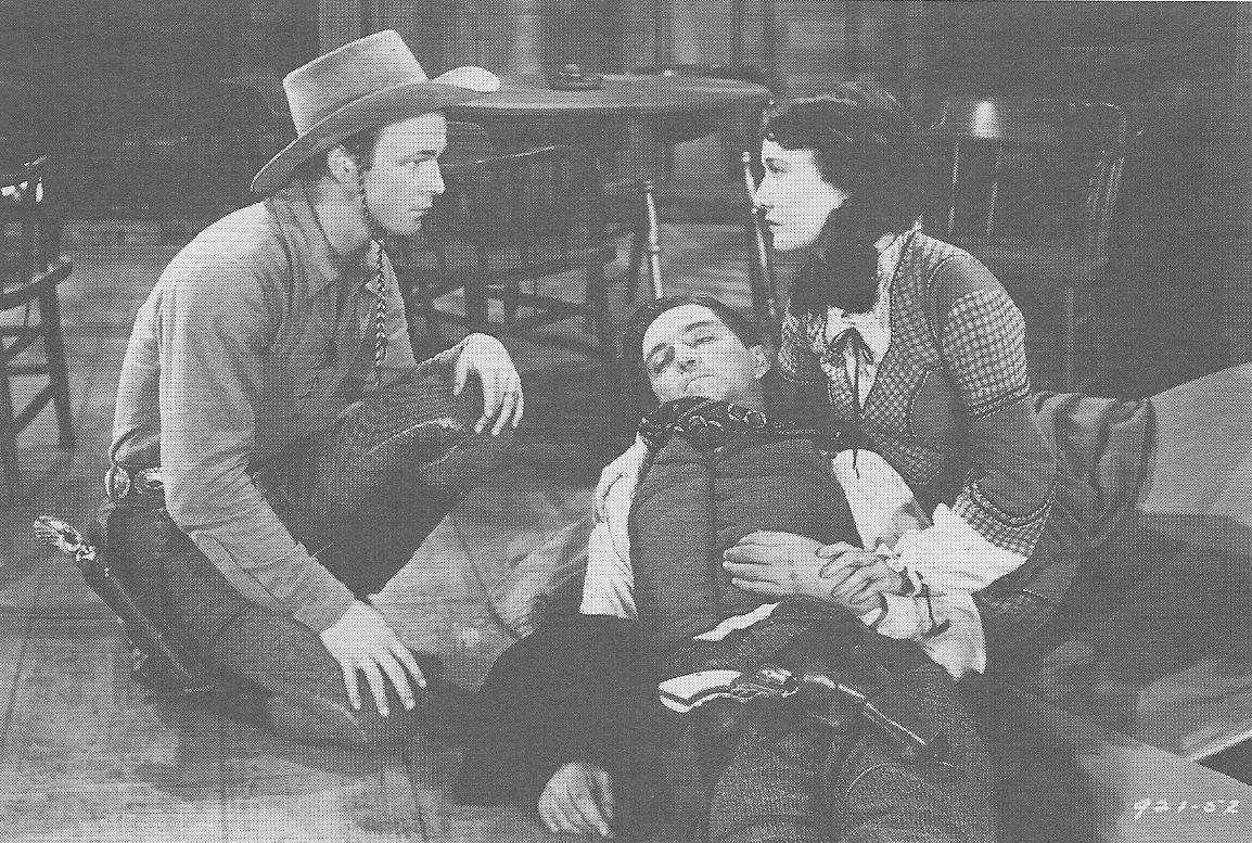 Roy Rogers, Stuart Hamblen, and Dorothy Sebastian in The Arizona Kid (1939)