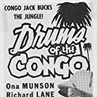 Ona Munson and Don Terry in Drums of the Congo (1942)