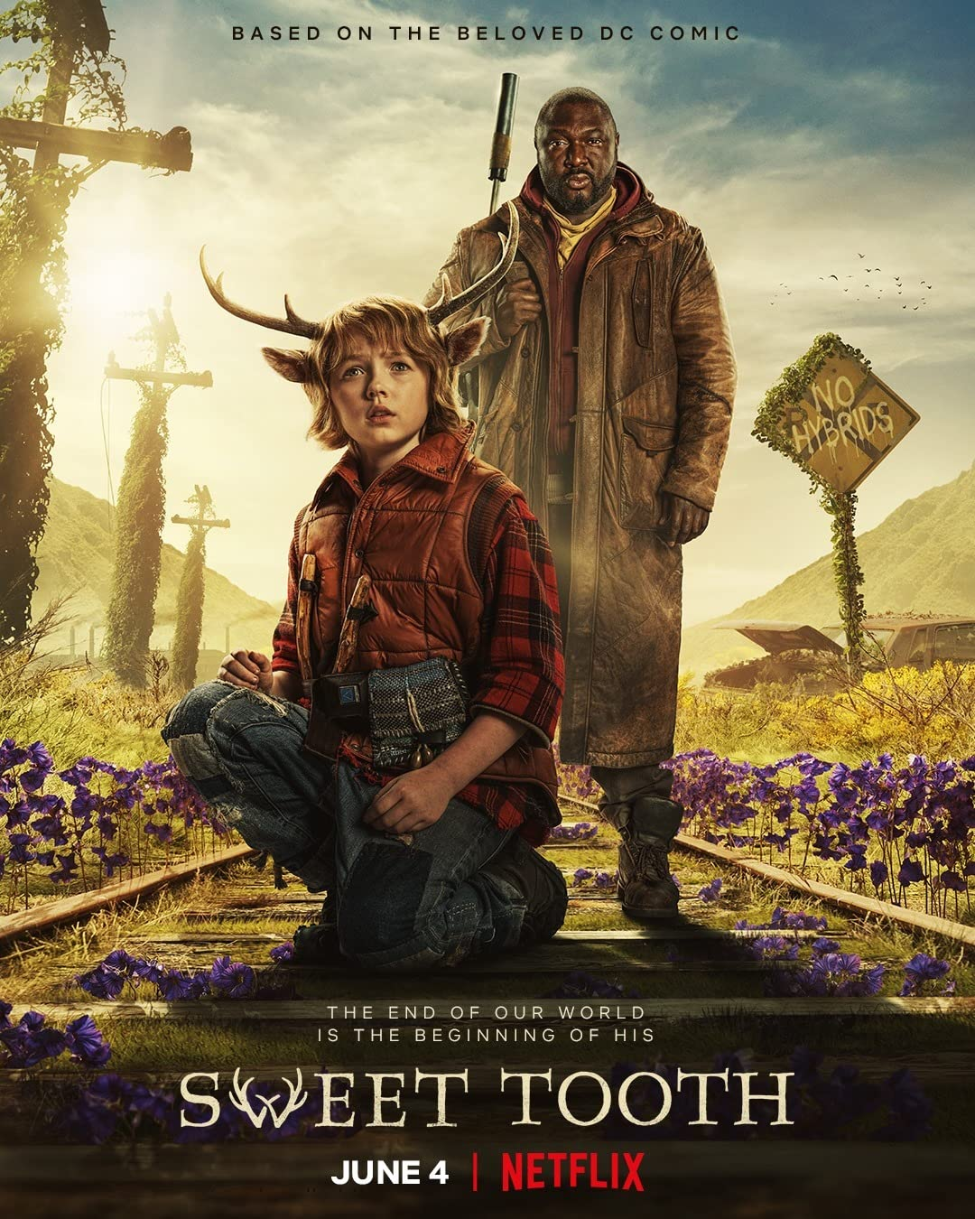 Sweet Tooth (2021) Season 1 Hindi Dubbed (Netflix)