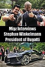 Migz interviews Stephan Winkelmann at the 2019 Concorso d'Eleganza Villa Erba