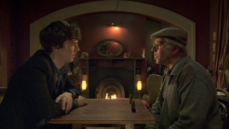 The unaired pilot episode of Sherlock Holmes was expanded and re-shot to be aired in 2010
