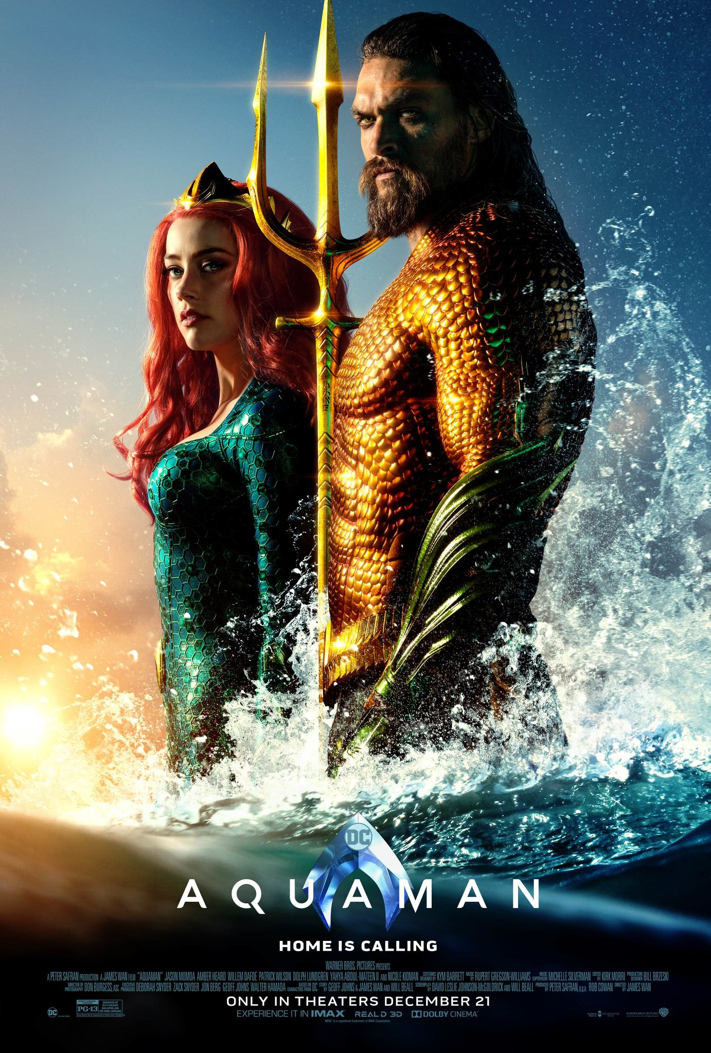 Image result for aquaman movie poster