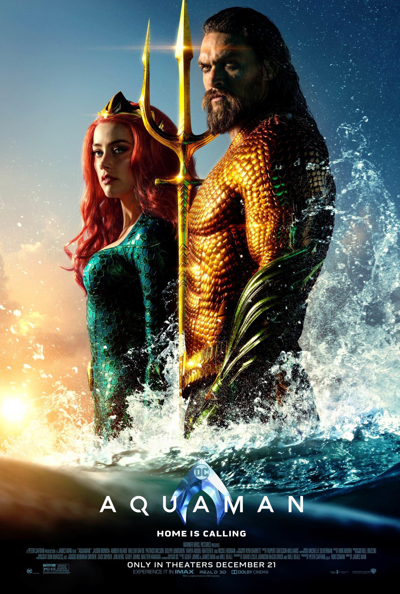 Aquaman (2018) BluRay 480p, 720p, 1080p & 4K-2160p