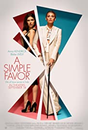 A Simple Favor: Gravestone Martinis Poster