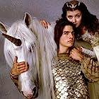 Tom Cruise and Mia Sara in Legend (1985)