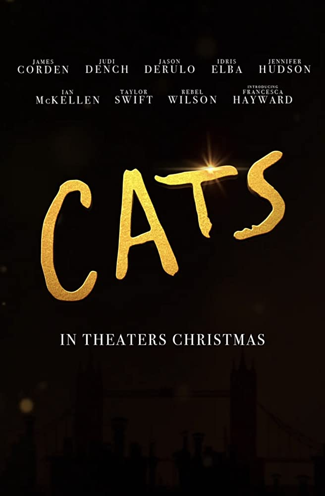Judi Dench, Ian McKellen, James Corden, Idris Elba, Jennifer Hudson, Rebel Wilson, Taylor Swift, Jason Derulo, and Francesca Hayward in Cats (2019)
