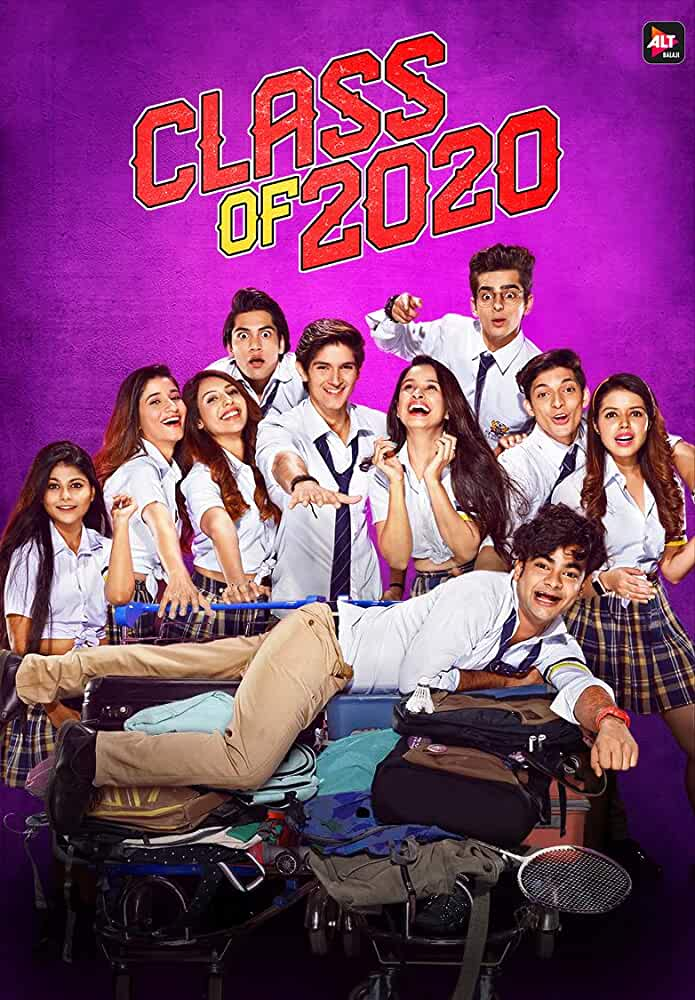 Class Of 2020 (2020) Hindi WEB-DL - 720P - x264 - 400MB | 700MB - Download & Watch Online  Movie Poster - mlsbd