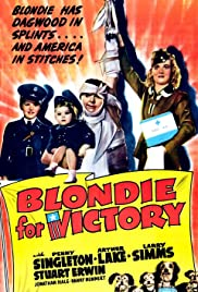 Blondie for Victory Poster