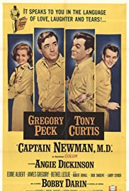 Captain Newman, M.D. (1963) Poster - Movie Forum, Cast, Reviews