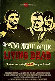 Opening Night of the Living Dead Poster