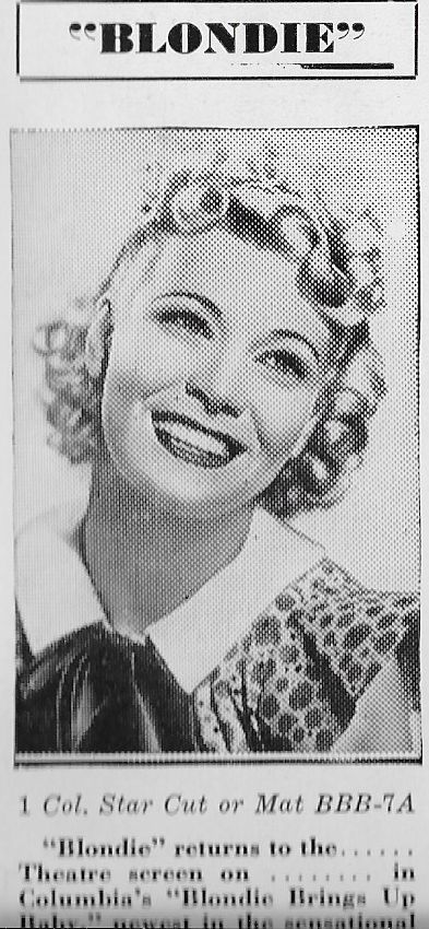 Penny Singleton in Blondie Brings Up Baby (1939)