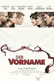 Iris Berben, Justus von Dohnányi, Christoph Maria Herbst, Caroline Peters, Florian David Fitz, and Janina Uhse in Der Vorname (2018)