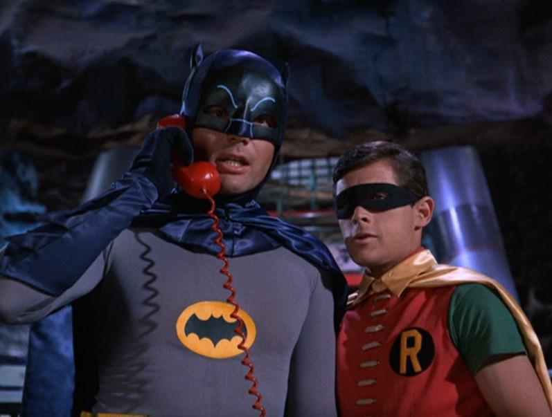 Adam West and Burt Ward in Batman 1966