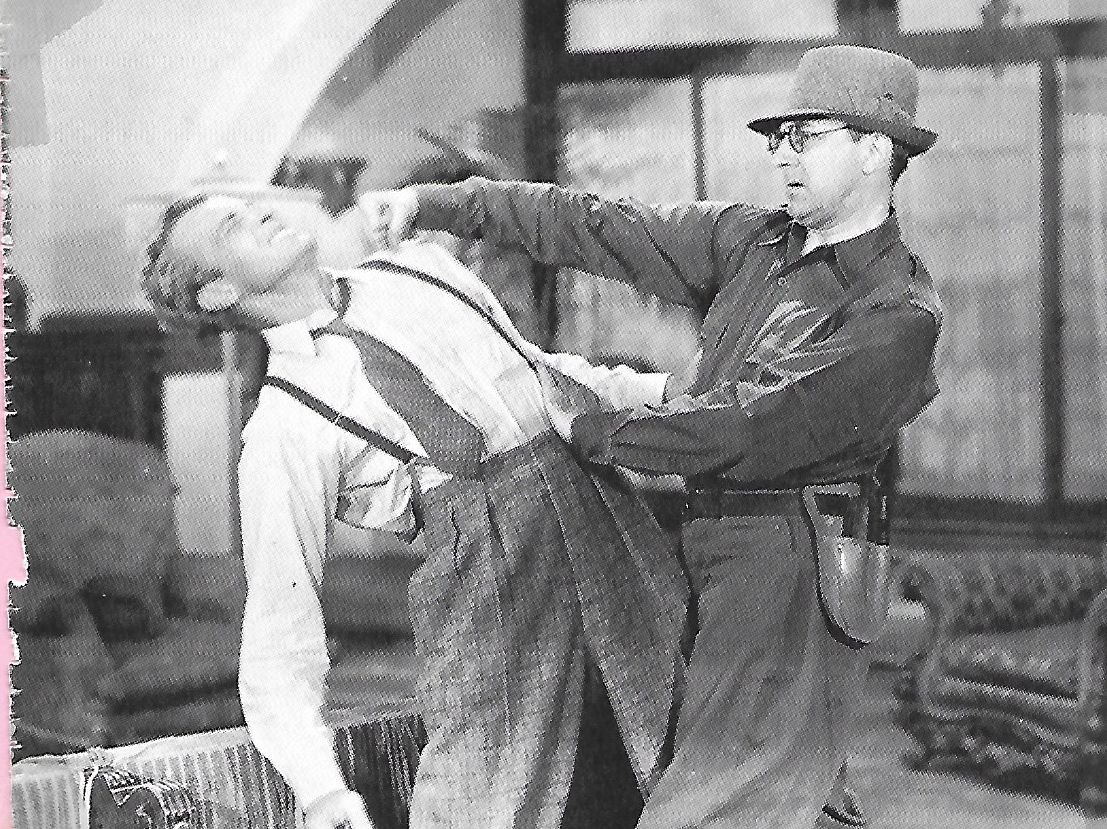 Bela Lugosi and Bruce Bennett in Shadow of Chinatown (1936)