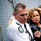 Leah Purcell and Chris Chalmers in Wentworth (2013)