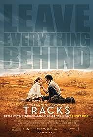 Mia Wasikowska and Adam Driver in Tracks (2013)