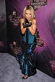 Tila Tequila's New Year's Eve Masquerade 2008 Poster