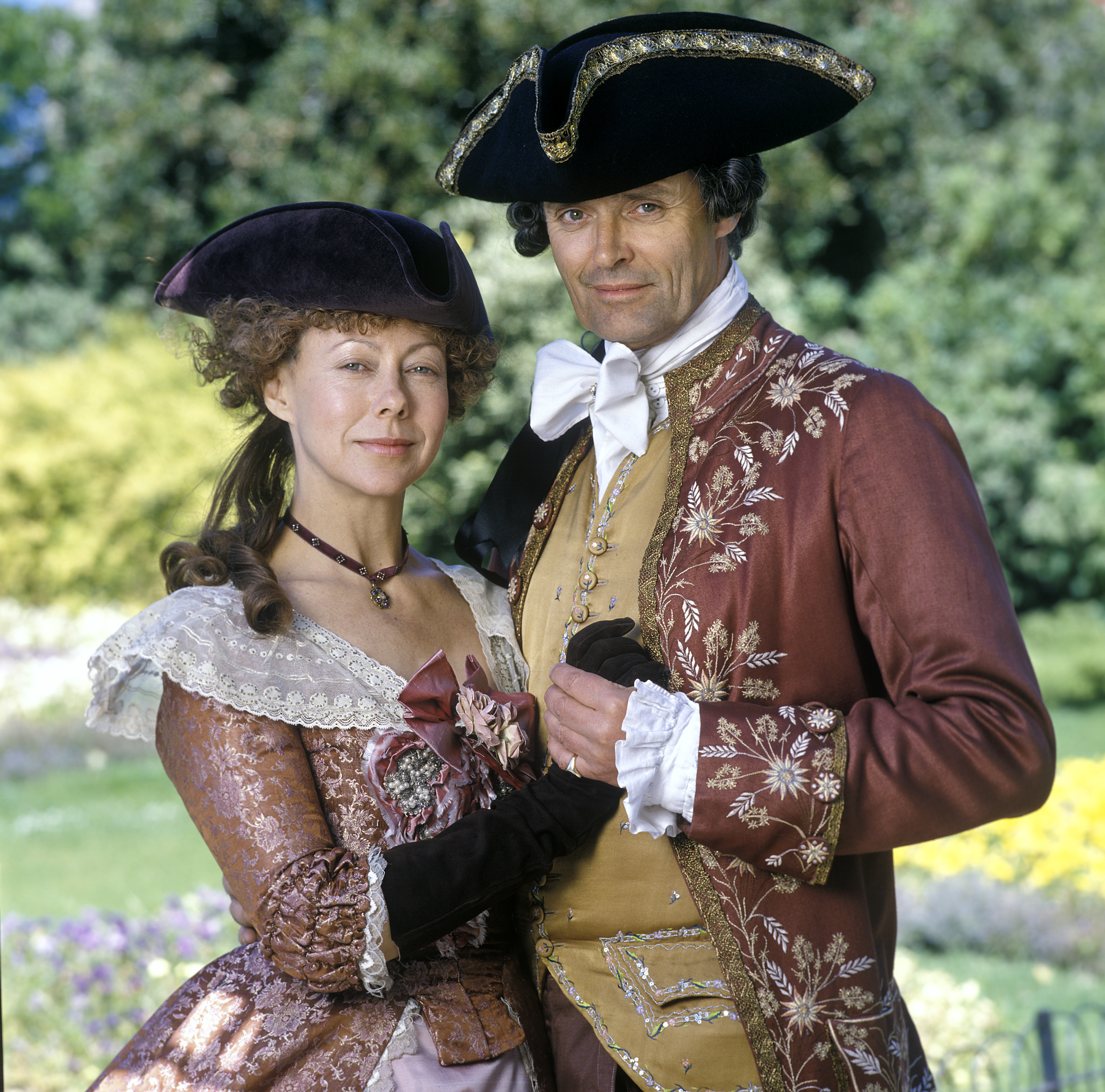 Jenny Agutter and Simon Williams in A Respectable Trade (1998)