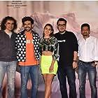 Imtiaz Ali, Kartik Aaryan, and Sara Ali Khan at an event for Love Aaj Kal (2020)