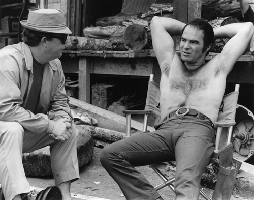 Burt Reynolds and Ned Beatty in Deliverance (1972)