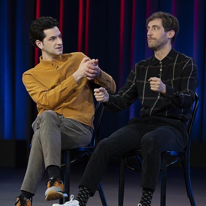 Ben Schwartz and Thomas Middleditch in Middleditch & Schwartz (2020)