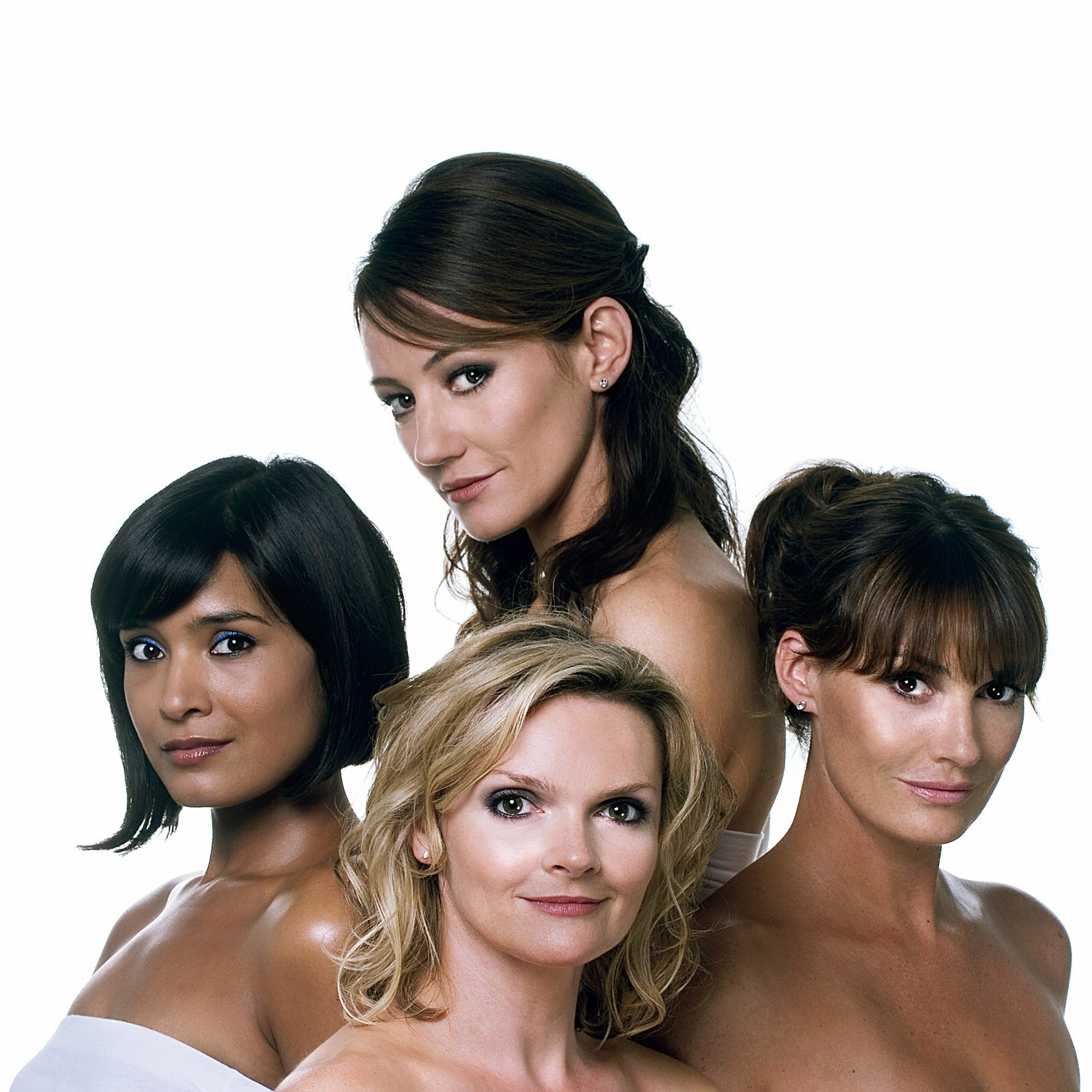 Orla Brady, Shelley Conn, Sarah Parish, and Sharon Small in Mistresses (2008)