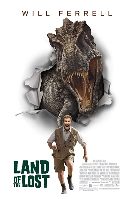 [PG-13] Land of the Lost (2009) Dual Audio Blu-Ray - 480P | 720P - x264 - 300MB | 900MB - Download & Watch Online  Movie Poster - mlsbd