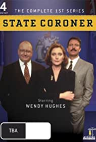 Bob Baines, Andrew Clarke, and Wendy Hughes in State Coroner (1997)