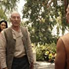 Patrick Stewart and Isa Briones in Et in Arcadia Ego, Part 1 (2020)