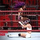 Daria Berenato and Sasha Banks in WWE Elimination Chamber (2018)