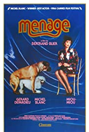 Ménage (1986) Poster - Movie Forum, Cast, Reviews