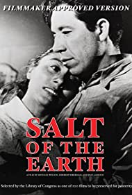 Juan Chacón and Rosaura Revueltas in Salt of the Earth (1954)