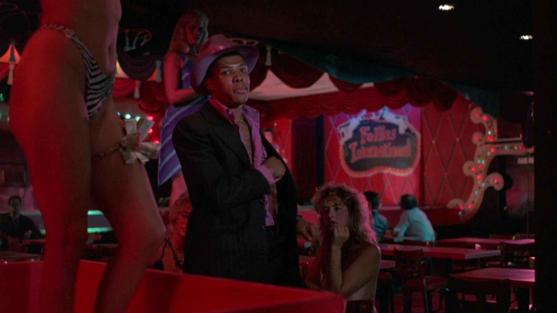 Eriq La Salle in Inferno in diretta (1985)