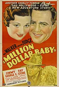 Jimmy Fay, Arline Judge, George E. Stone, and Ray Walker in Million Dollar Baby (1934)
