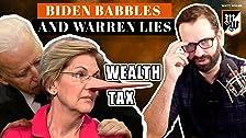 Biden Babbles Y Warren Mentiras