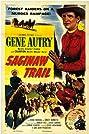 Saginaw Trail (1953) Poster