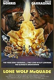 David Carradine and Chuck Norris in Lone Wolf McQuade (1983)