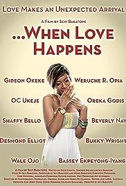 When Love Happens Poster