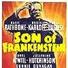 Boris Karloff, Bela Lugosi, and Basil Rathbone in Son of Frankenstein (1939)