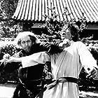 Scott Glenn and Toshirô Mifune in The Challenge (1982)