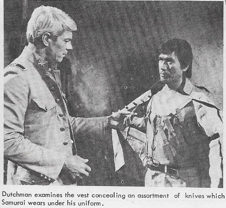 Peter Graves and Tetsurô Tanba in Un esercito di 5 uomini (1969)