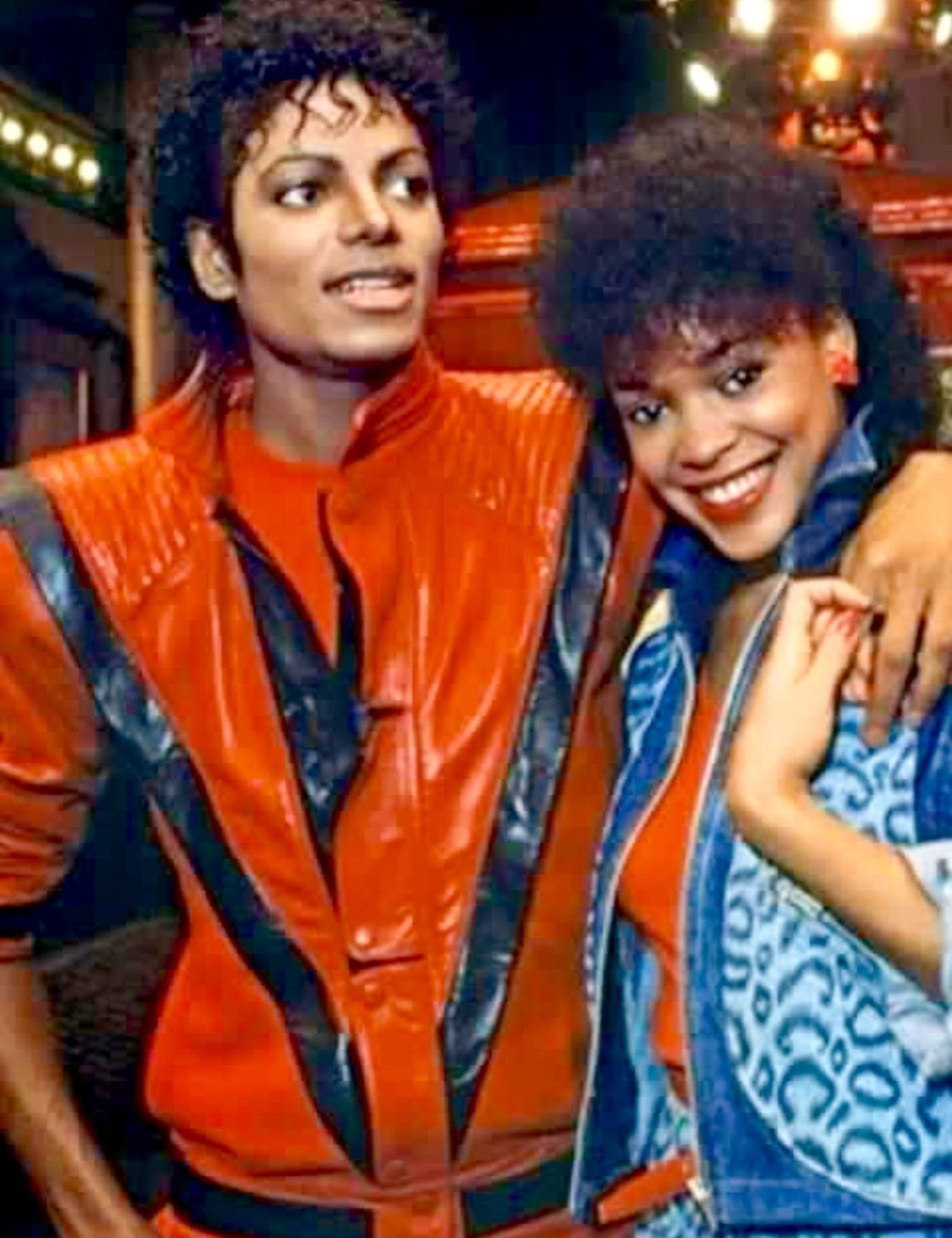 Michael Jackson and Ola Ray in Mirroring Michael Jackson (2021)
