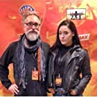 Actress Annie-Sage Whitehurst and father screening 'Death Trail' and 'BPM' at the 2018 Urban Action Showcase Expo, NYC