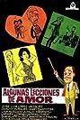 Algunas lecciones de amor (1966) Poster