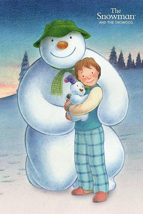 Sniego senis ir sniego šuo (2012) / The Snowman and the Snowdog