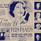 Walter Connolly, Preston Foster, Kay Francis, Victor Jory, Anita Louise, and Verree Teasdale in First Lady (1937)