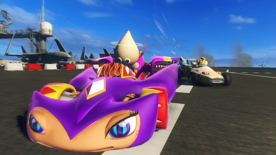 Jewels Jaselle in Sonic & All-Stars Racing Transformed (2012)